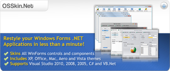 OSSkin.net for Windows Forms .NET