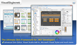 Advanced Skin component and Skin editor for Windows Forms.Net